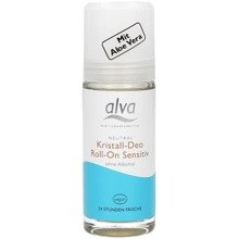 "Dezodorant z kryształu ""Sensitive"" Roll On 50 ml ALVA"