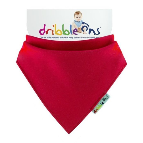 Chustko-śliniak Dribble ONS, Bright, Red