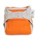 Pieluszka SIO Pop-in V1 minkee CLOSE PARENT, One Size (4-16 kg), Żywe Kolory, Orange Peel