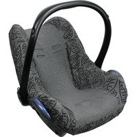 Pokrowiec do fotelika Dooky Seat Cover Grey Leaves